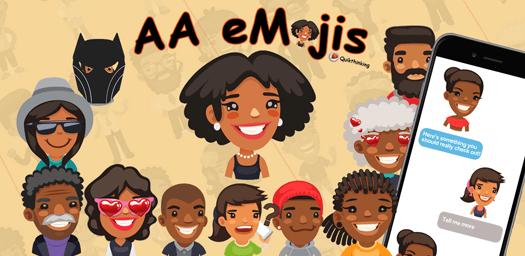 aaEmojis - African American Emojis