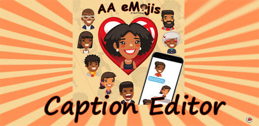 AAeMojis Caption Editor