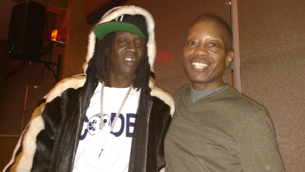 Flavor Flav and Hugh Smith