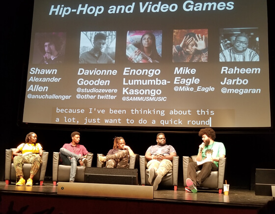 Hip Hop and Video Games at Game Devs of Color 2019