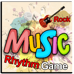 Music Rhythm Game Rock
