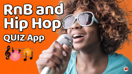 RnB and Hip Hop Quiz Mobile App