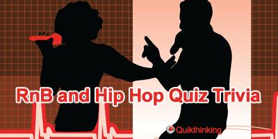 RnB and Hip Hop Quiz