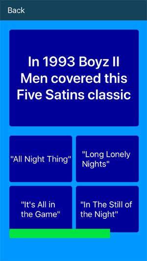RnB Music Quiz Soul App