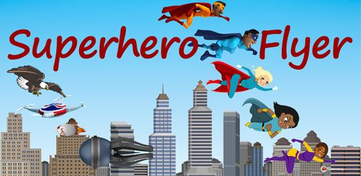 Superhero Flyer Game