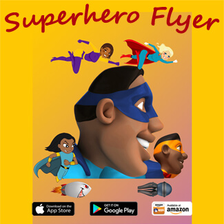 Superhero Flyer App